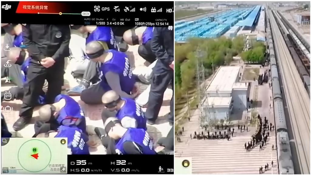 Awalnya Bilang Hidup Berdampingan dengan Uighur, Dubes China Mendadak Gelagapan Saat Ditunjukkan Bukti Drone
