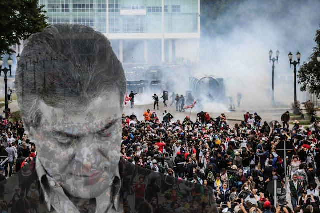 Para não esquecer! Há 5 anos, Beto Richa massacrava os professores no Centro Cívico de Curitiba