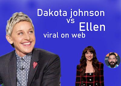 dakota johnson and ellen viral video