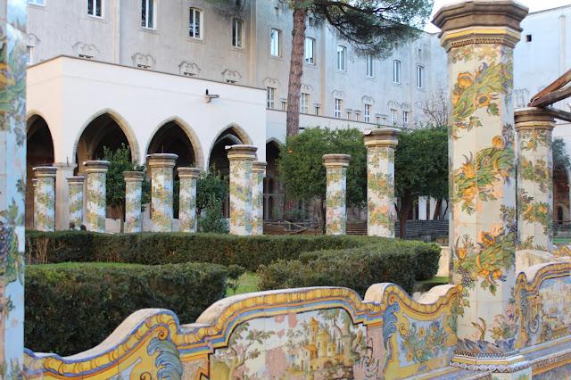 Maioliche Santa Chiara Napoli