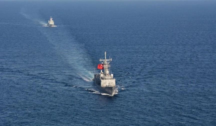 Τουρκική φρεγάτα παρενόχλησε ιταλικό ερευνητικό νότια της Κρήτης