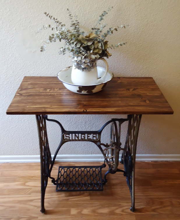 Singer Treadle Sewing Machine Table - SOLD