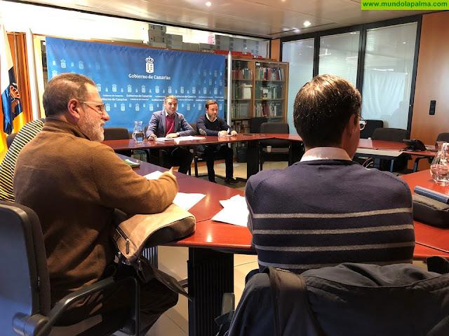 Quintero se reúne con la Comisión de Desarrollo Rural de la FECAM para continuar el debate sobre las Directrices de Ordenación del Suelo Agrario