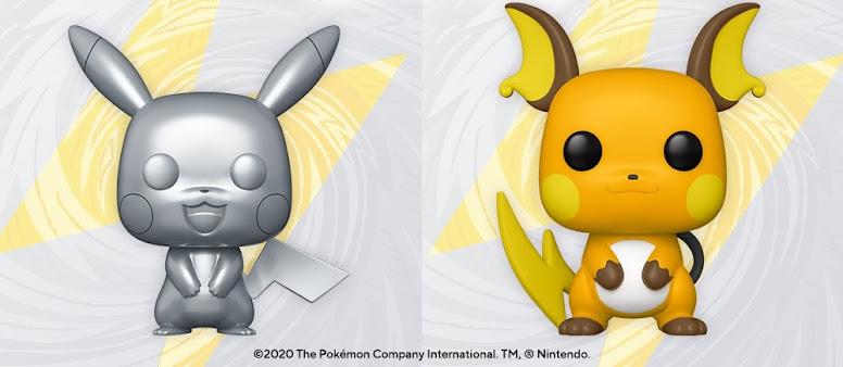 Funko Pop Pikachu e Raichu
