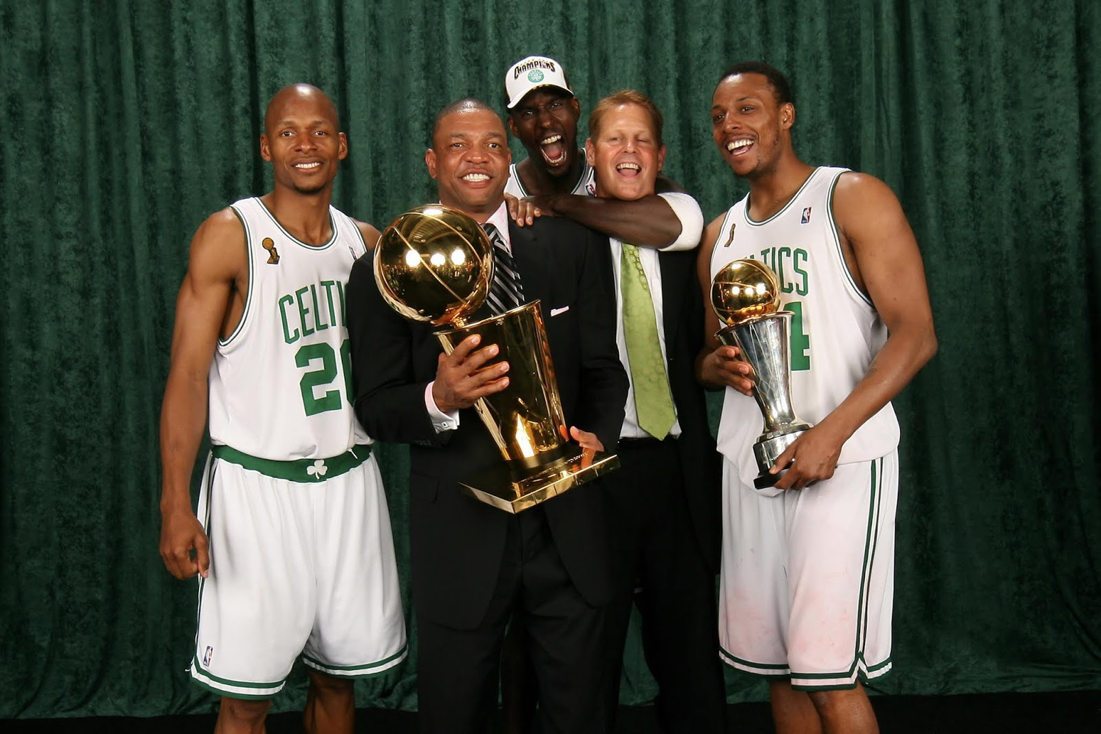 Causeway Street: Danny Ainge on when Kevin Garnett first arrived in Boston:  'He emphasized that it was all about the team'