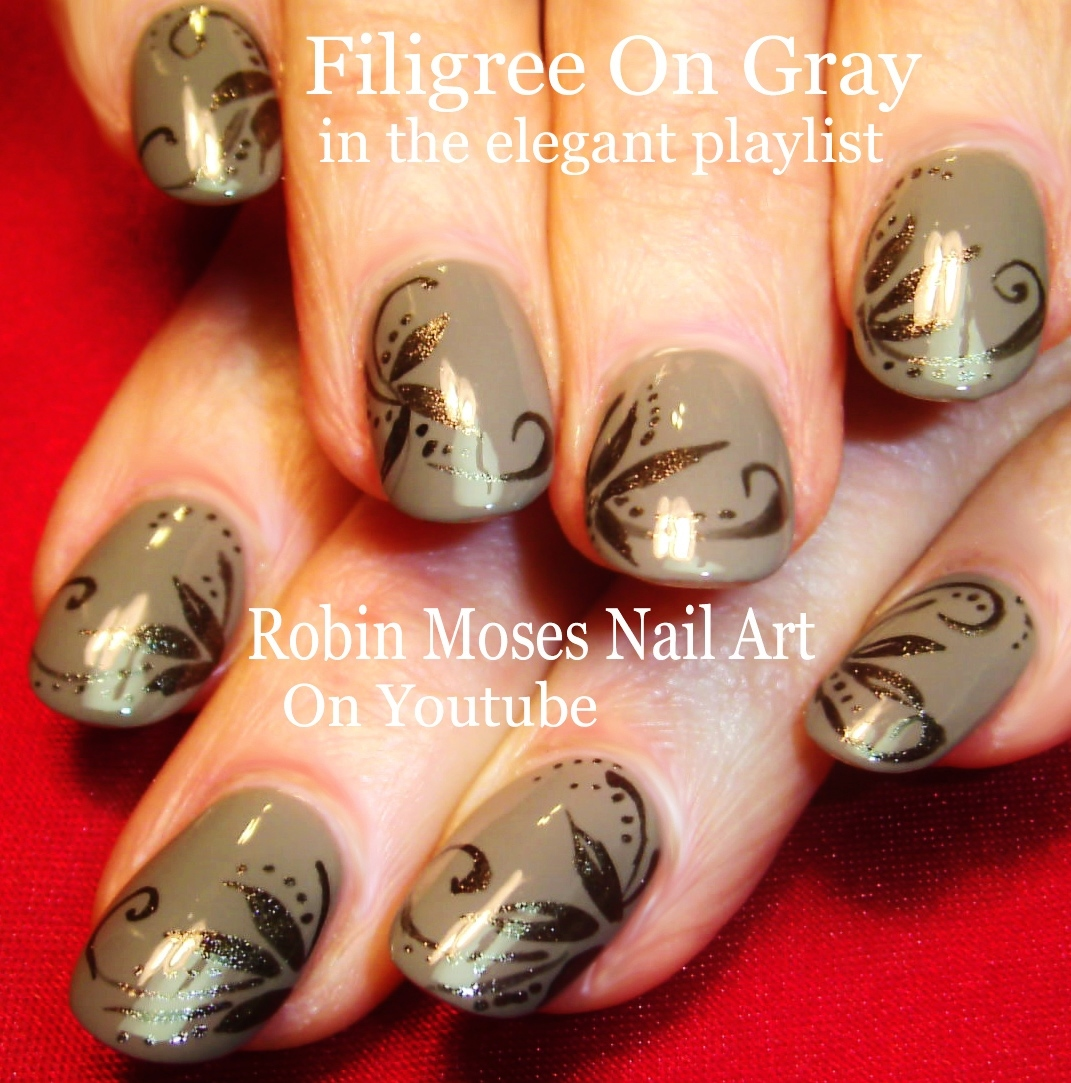 Nail Art By Robin Moses Fall Nails Playlist Full Length Autumn