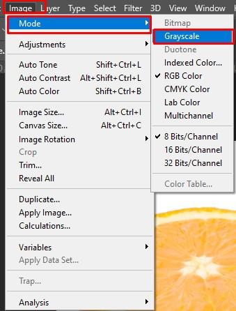 Grayscale - Cara Membuat Foto Hitam Putih di Photoshop