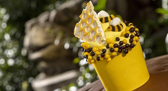 Creature Comfort's Honey Bee Cupcake