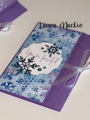 Frozen Invites Stampin' Up!