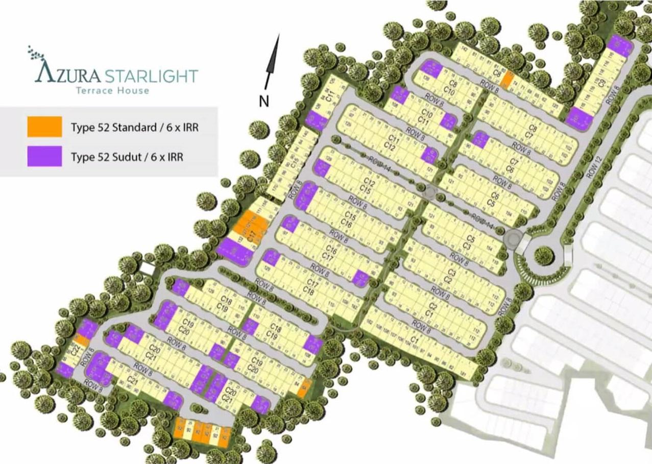 Azura Starlight Terrace House BSD City