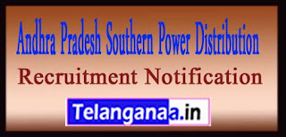 APEPDCL Andhra Pradesh Southern Power Distribution Company Ltd Recruitment Notification 2017