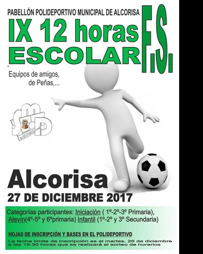 IX 12 Horas FS Escolar 2017