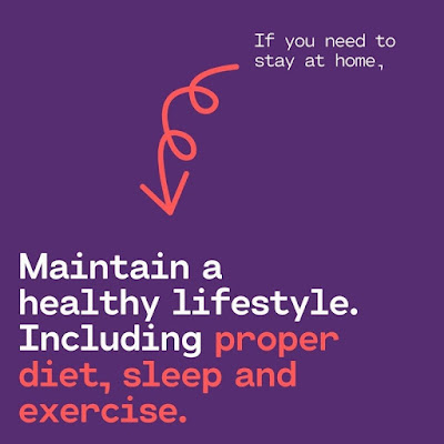 Maintain a healthy lifestyle including proper diet, sleep, and exercise