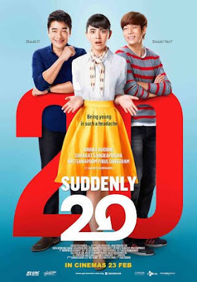 Suddenly Twenty, Filem Thailand, Thai Movie, Adaptasi Filem Korea, Korean Movie Miss Granny, Review Filem Thai Suddenly Twenty, Thai Movie Review, Pelakon Filem Suddenly Twenty, Davika Hoorne, Saharat Sangkapricha, Kritsanapoom Pibulsonggram, Review By Miss Banu, 2016, Pee Mak, My Favorite, Sweet, Comedy, Sinopsis Suddenly Twenty Thai Movie,