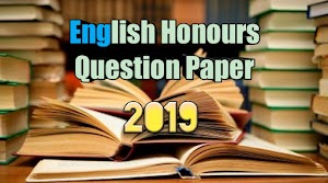 Calcutta University English Honours question paper 2019 download