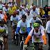 Mais de 400 ciclistas promovem conscientização para um trânsito seguro em Parnamirim