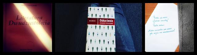 literatura dwudziestolecia, książki, książka oskarżenie, poeta, poezja