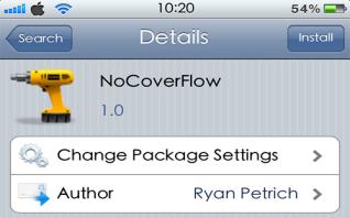 NoCoverFlow