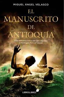 Entrevista al escritor Miguel Ángel Velasco. El manuscrito de Éfeso/El manuscrito de Antioquía.