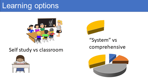 Learning options