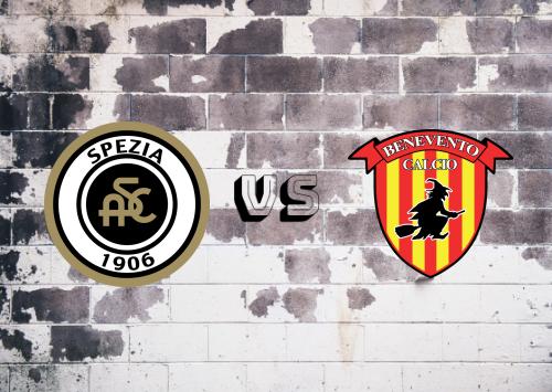 Spezia vs Benevento  Resumen