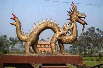 Ahom Dragons Rang Ghar