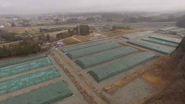 Fukushima area flood water reached as high as 75 feet _88650943_p03lz5pj