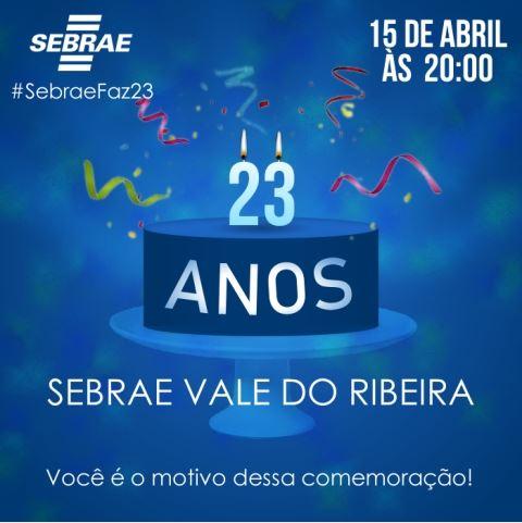 Sebrae-SP completa 23 anos de atuação no Vale do Ribeira