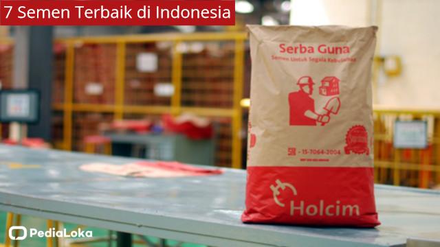 Merk Semen Terbaik di Indonesia