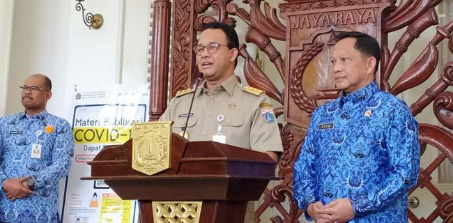 Disambangi Tito Karnavian, Anies: Kami Mendapat Tamu Kehormatan