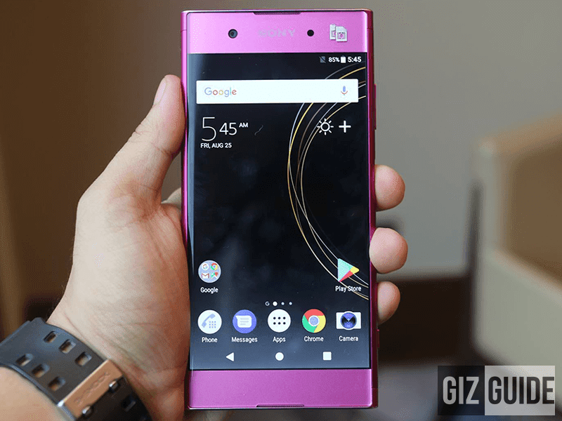 Top 5 Highlights Of Sony Xperia XA1 Plus