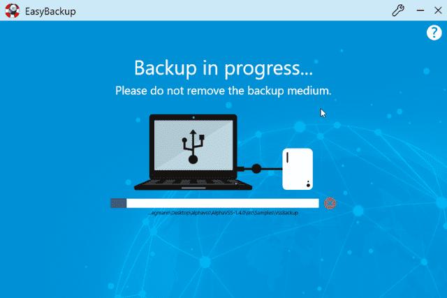Screenshot Abelssoft EasyBackup 2020 v10.02.17 Full Version