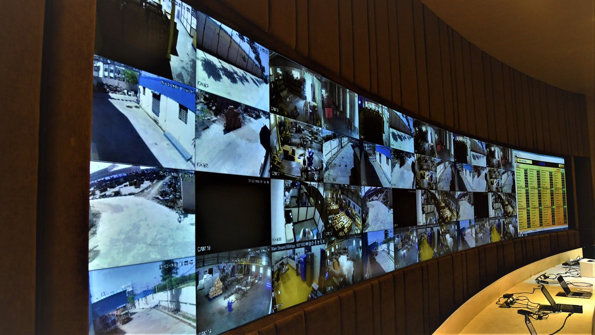 Hệ thống camera Vinhomes Smart City