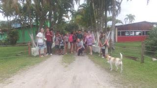 Sala vencedora da Gincana da Cidadania da Escola Yolanda ganha uma tarde recreativa na piscina
