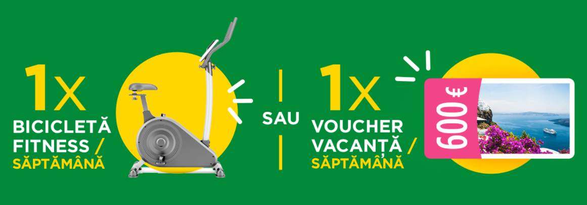 Concurs Activia de Baut - Castiga 8 vacante in Romania sau 8 biciclete de fitness - concursuri - online - 2021