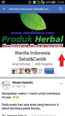 bagaimana cara keluar dari grup facebook