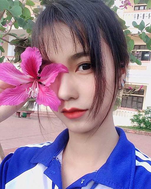 Chân dung vẻ đẹp lai của nữ sinh 10x Nam Định gây xôn xao cộng đồng mạng