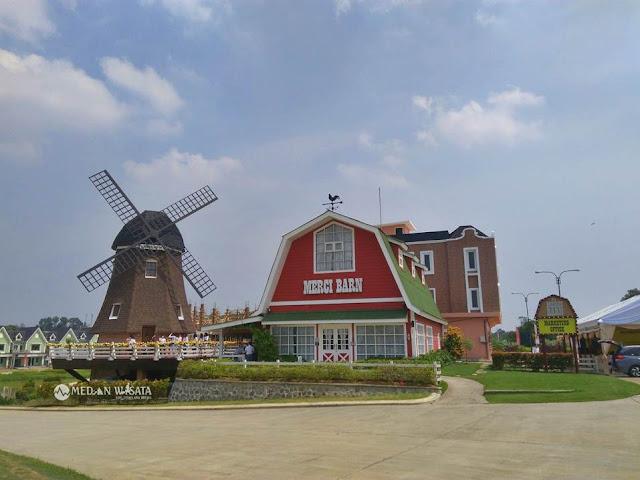 Negeri Kincir Angin di Medan