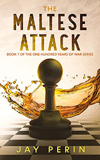 The Maltese Attack, a historical thriller book promotion sites Jay Perin
