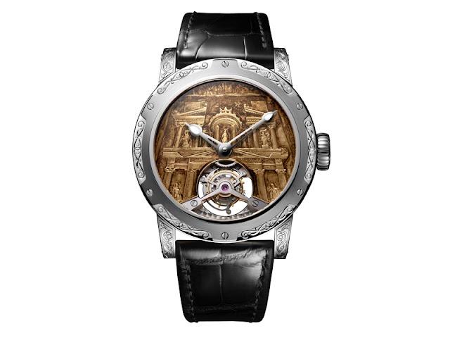 Swiss brand dedicates a timepiece to Petra - an ancient Nabataean city