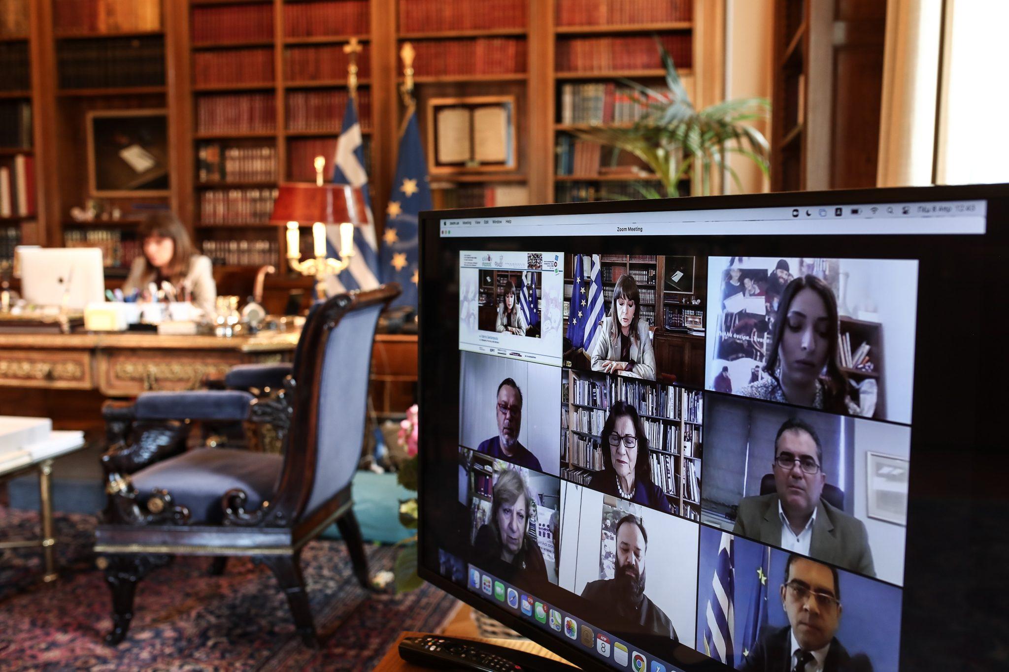 Σακελλαροπούλου: Απαιτούνται μεταρρυθμίσεις για την ομαλή κοινωνική ένταξη των Ρομά