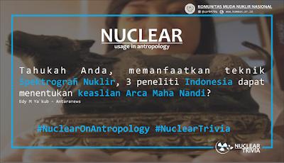 Menguji Keaslian Arca, Peneliti Indonesia Gunakan Spektrografi Nuklir