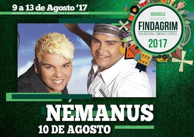 10 de Agosto - Némanus na FINDAGRIM 2017