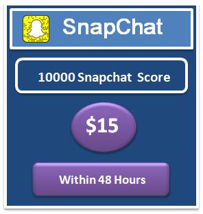 10000 snapchat score