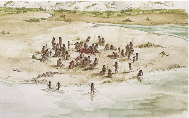 Eating out was a very social matter for early humans
