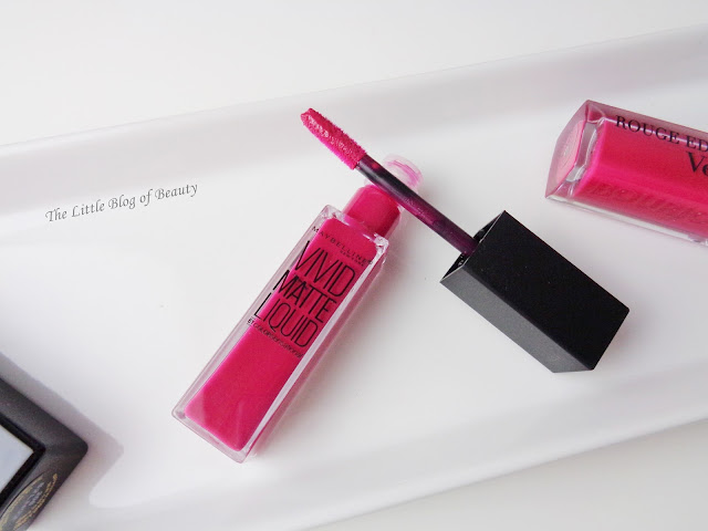Maybelline Vivid Matte Liquid in Berry Boost