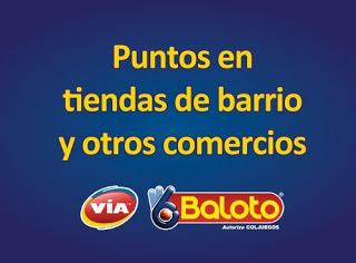 Puntos Baloto Cartagena