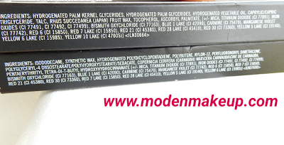 M.A.C Lip Liner ingredients - www.modenmakeup.com