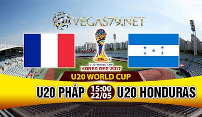 Nhận định, soi kèo nhà cái U20 Pháp vs U20 Honduras