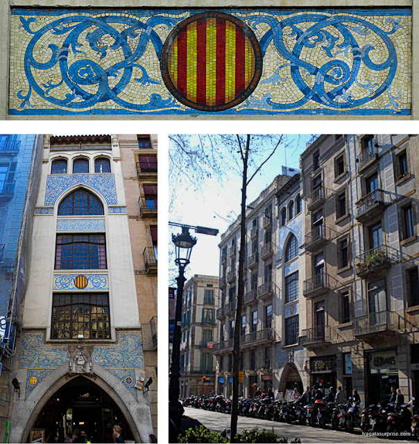 Modernismo nas Ramblas de Barcelona: Casa Doctor Genové